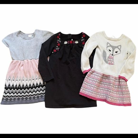 Gymboree Crazy 8 Fall Girls Dress Set 5T